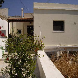 Detached Cycladic house at Ano Syros