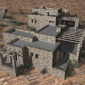 Complex of 2 stone houses…